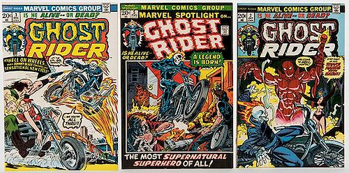 Ghost Rider. Lot of Five Comic Books