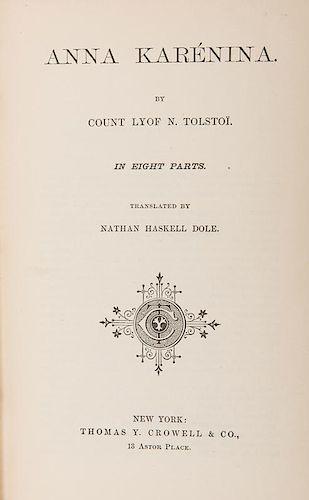 Tolstoi, Count Lyof N. Anna Karenina.