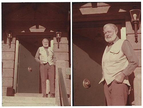 Hemingway, Ernest. A Collection of Candid Photos from Ketchum, Idaho.