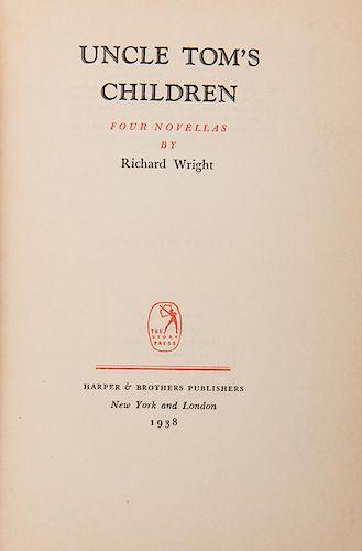 Wright, Richard. Uncle Tom's Children. Four Novellas