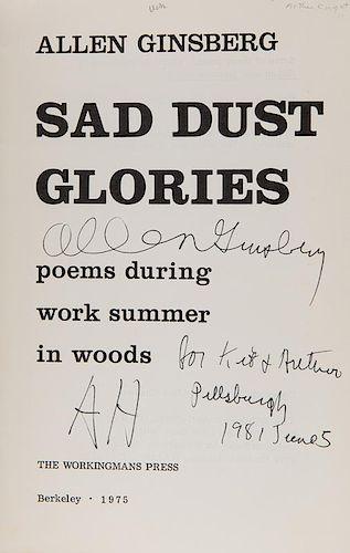 Ginsberg, Allen. Sad Dust Glories. Poems during work summer in woods