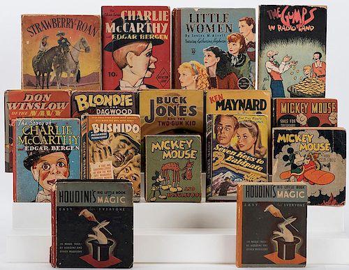 [Children's Literature] A Group of Big Little Children's Books and Similar Publications.