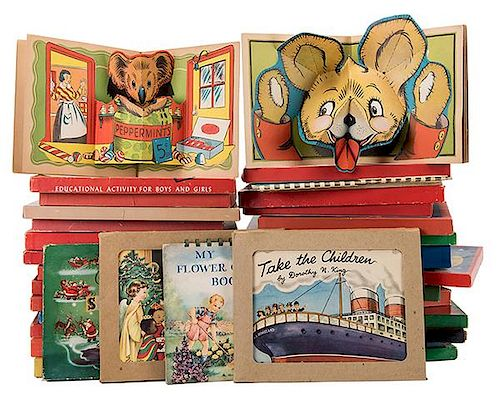 [Pop-Up] Lot of Christmas Pop-Up, Movable, Noise-Making, and Interactive Books.