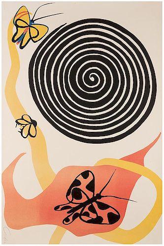 Calder, Alexander. Butterflies and Swirls.