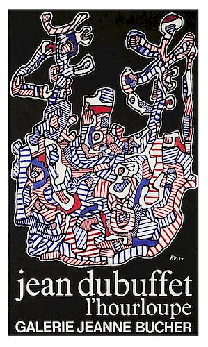 [Exhibition Posters. Dubuffet, Jean] Jean Dubuffet l'Hourloupe.