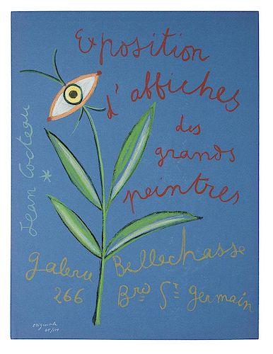 [Exhibition Posters. Cocteau, Jean] Jean Cocteau