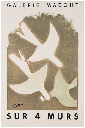 [Exhibition Posters. Braque, Georges] Braque.