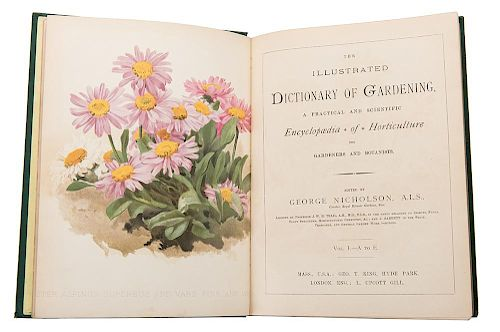 Nicholson, George, ed. The Illustrated Dictionary of Gardening.