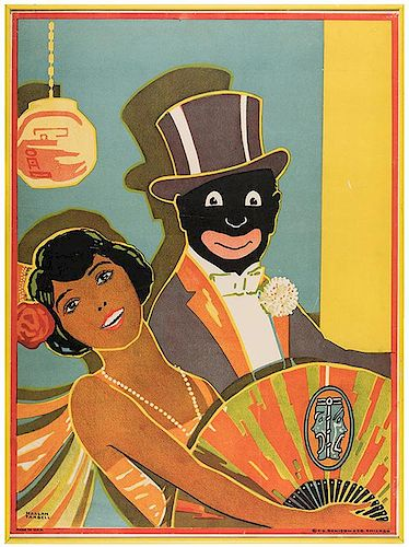 Tarbell, Harlan (American, 1890—1960). Minstrelsy Poster. Chicago