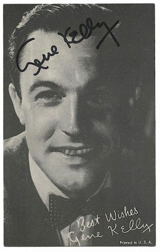 [Film] Lot of 20 signed photographs and clipped signatures of Hollywood actors and directors.