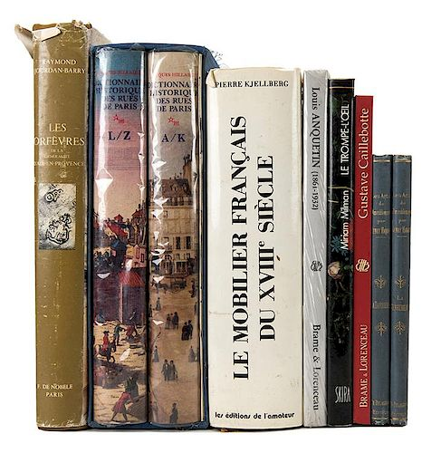[Design] Lot of 9 Volumes on Art, Design, and History.
