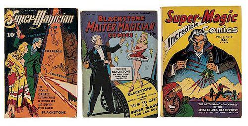 Gibson, Walter. Super Magician [Super-Magic] Comics.