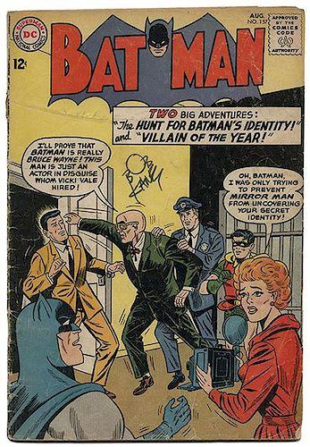 Kane, Bob. Three Comic Books Signed by Kane.