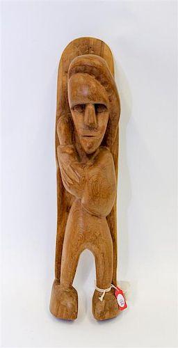 * Patrocino Barela, (American, 1908-1964), Untitled