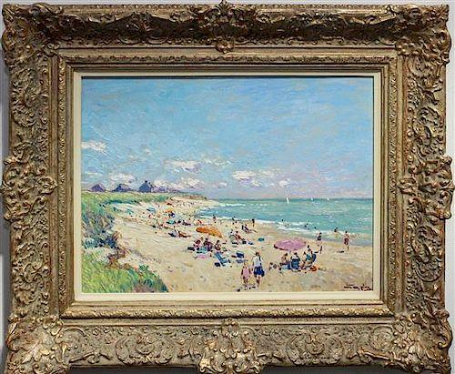 Niek van der Plas, (Dutch, b. 1954), Nantucket Beach