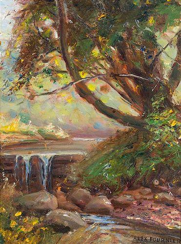 Alexis Jean Fournier, (American, 1865-1948), Landscape