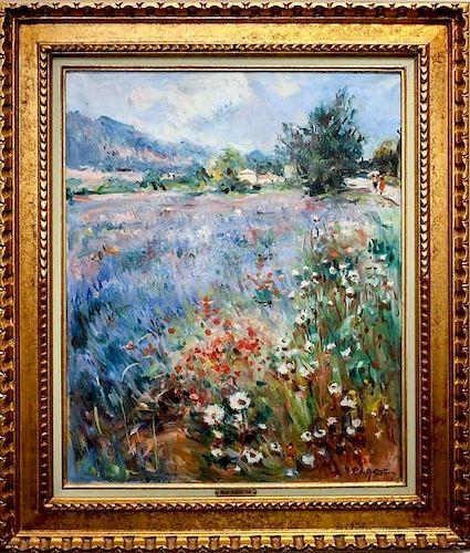 Max Agostini, (French, 1912-1997), Garden Path