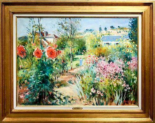 Max Agostini, (French, 1914-1997), Garden
