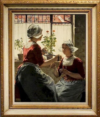 Walter MacEwen, (American, 1860-1943), Untitled