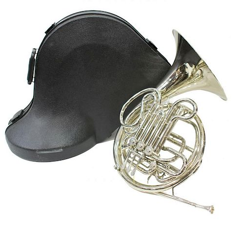 CONN MODEL 8D DOUBLE FRENCH HORN, EXCELLENT