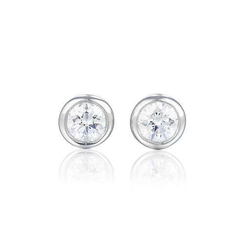 264822f89 Tiffany & Co. Elsa Peretti Diamond Stud Earrings. Lot 424. Prev Lot · Next  Lot · item Image