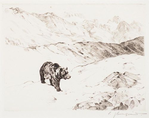 CARL RUNGIUS (1869-1959), An Old Prospector; Cliff Dwellers; An Old Fighter;