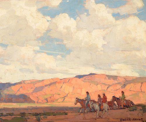 EDGAR PAYNE (1883-1947), Arizona Country