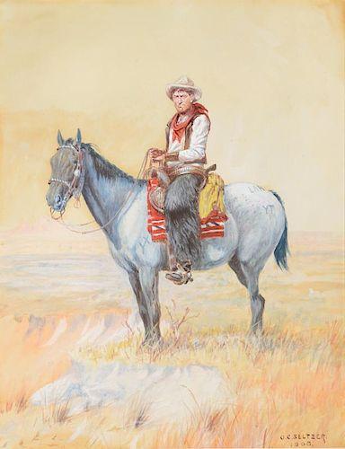 OLAF C. SELTZER (1877-1957), Philip Des Jardins (1908)