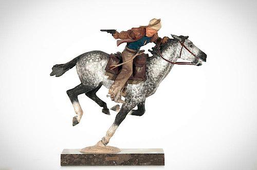 HARRY JACKSON (1924-2011), Pony Express (1967)