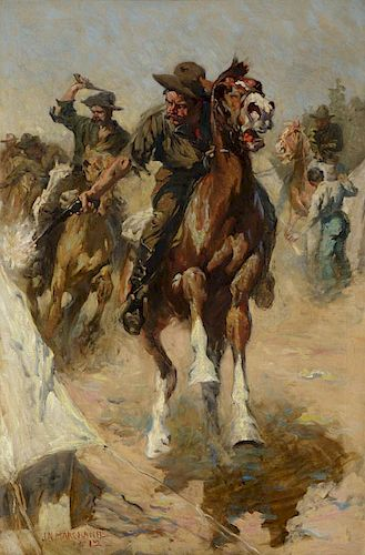 JOHN MARCHAND (1875-1921), Rough Riders (1912)