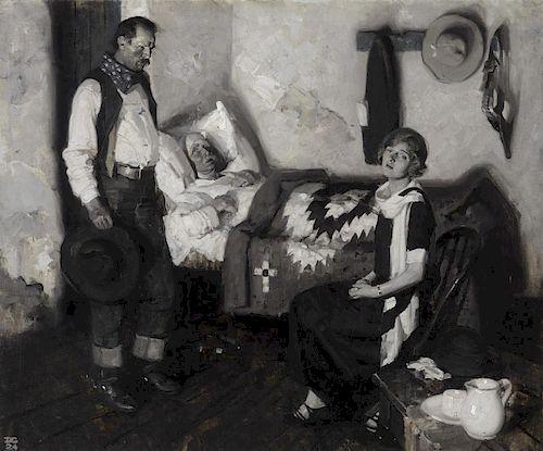 DEAN CORNWELL (1892-1960), Bedside (1924)