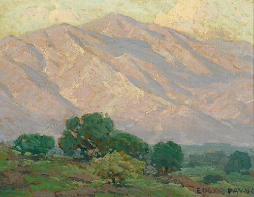 EDGAR PAYNE (1883-1947), Pasadena, California, San Gabriel Mountains
