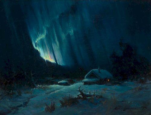 SYDNEY LAURENCE (1865-1940), Northern Lights (1921)