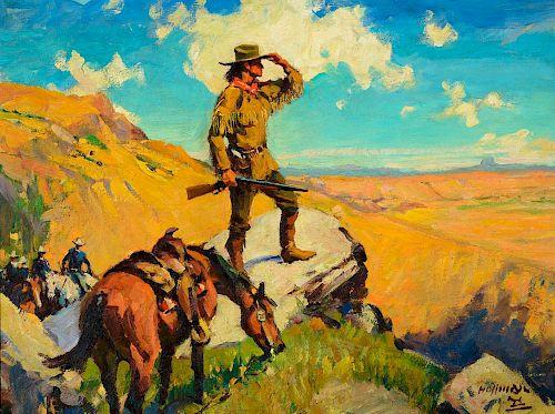 FRANK B. HOFFMAN (1888-1958), Pawnee Bill
