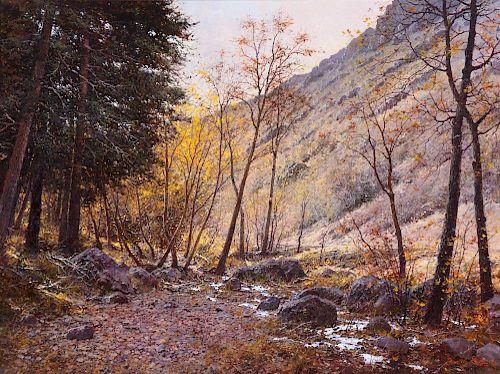 FRANCOIS KOCH (b. 1944), Winter's Lace (2006)