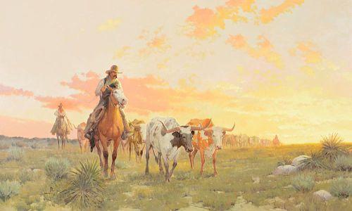 ROBERT PUMMILL (b. 1936), Trails North (2001)