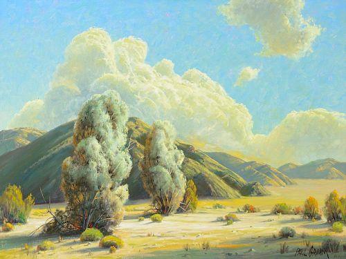 PAUL GRIMM (1891-1974), Sun-Kissed Smoke Trees (1968)
