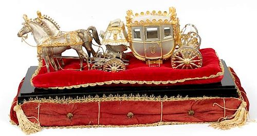 FISHER BODY PARCEL MODEL OF NAPOLEON'S COACH