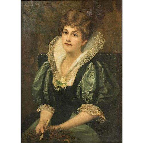 Francis Davis Millet (1846-1912) Portrait Painting
