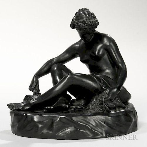 Wedgwood Black Basalt Figure of Diana