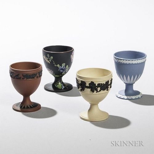 Four Wedgwood Egg Cups