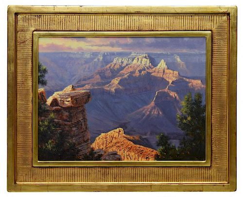 KENNY McKENNA (B. 1950), GRAND CANYON VISTA