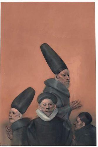 Rafael Coronel  (Mexican, 1932- ) Latin Modern Painting