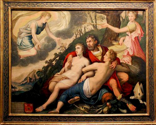 Frans Floris, attr. Flemish Old Master Renaissance