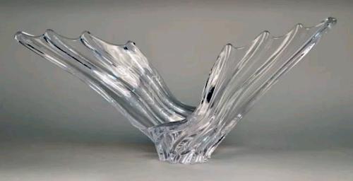 Cristalleries de Vannes-le-Chatel Elephant Dish.