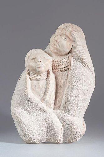 Allan Houser   Mother and Child (desc)