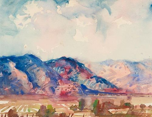 Rod Goebel   Taos Fields