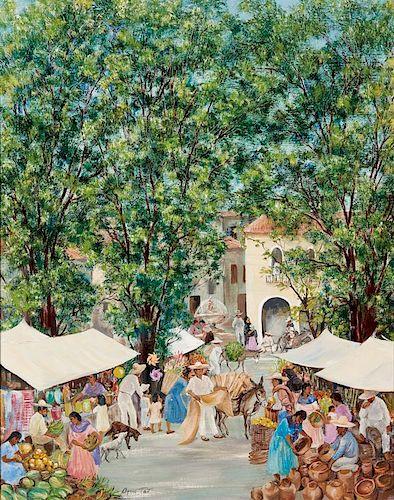 Agnes Tait   Market Day