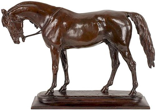 Alexander Phimister Proctor | Arabian Stallion