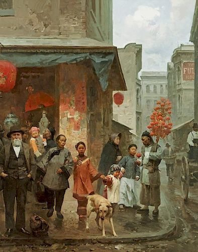Mian Situ | The Lantern Peddler
